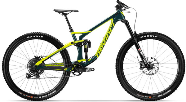 Devinci Spartan Carbon 29 NX Color: Green