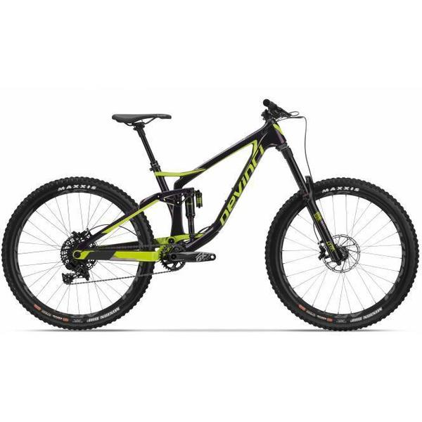 Devinci Spartan Carbon GX Eagle Color: Gloss|Purple,Green