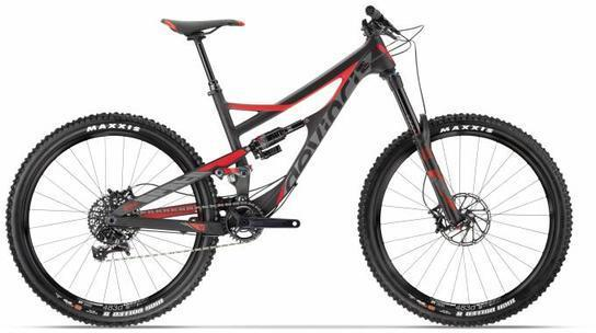 Devinci Spartan RS Color: Carbon/Red/Coal
