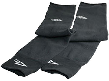 DeFeet Armskins Arm Warmers Color: Black D-Logo