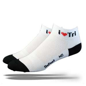 DeFeet Speede I Love Tri
