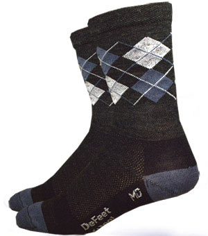 DeFeet Wooleator Argyle Hi Top Color: Argyle