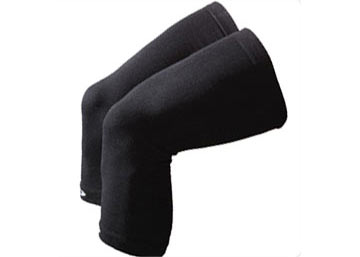 DeFeet Kneekers Charcoal Wool Knee Warmers