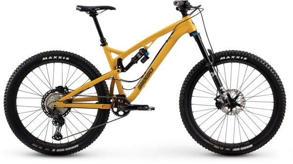 Diamondback Release 3 Color: Curry Yellow Matte