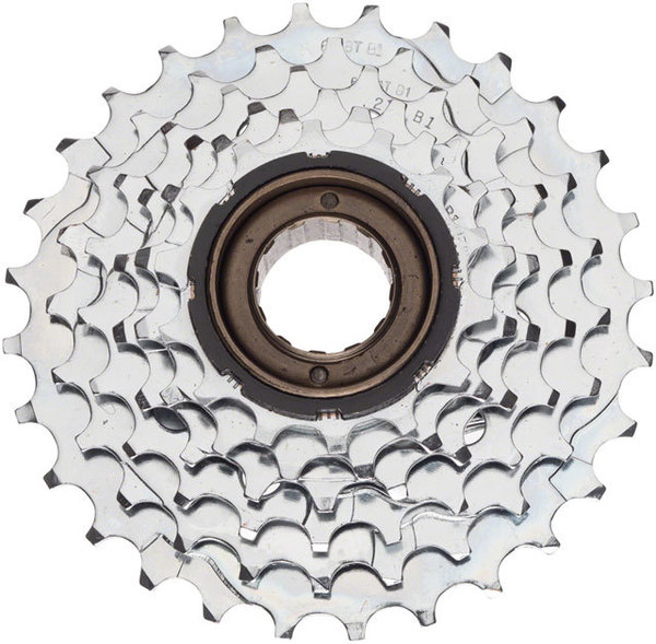 Dimension 6-Speed Freewheel Color | Size: Silver | 14 – 28T
