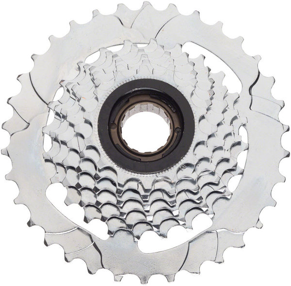 Dimension 7-Speed Freewheel Color | Size: Silver | 14 – 34T
