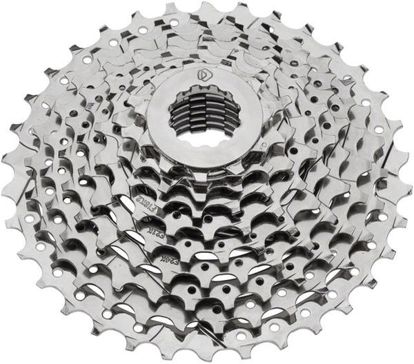 Dimension 9-Speed Cassette Color: Silver