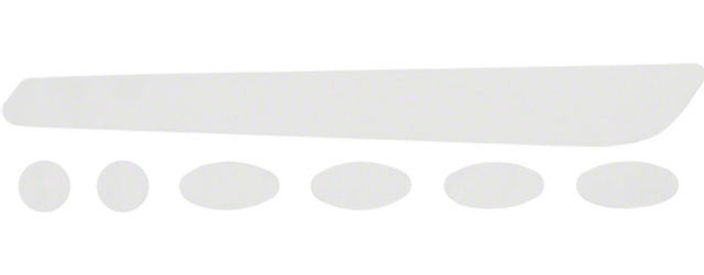 Dimension Chainstay Protector and Frame Dots Color | Size: Clear | 10-pack
