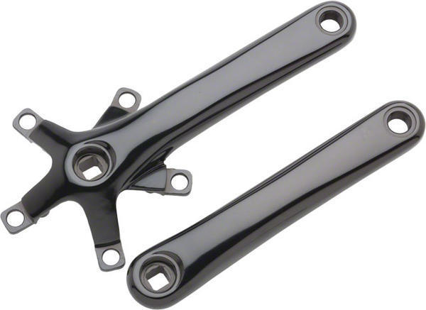 Dimension Cross Crank Arm Set Color: Black