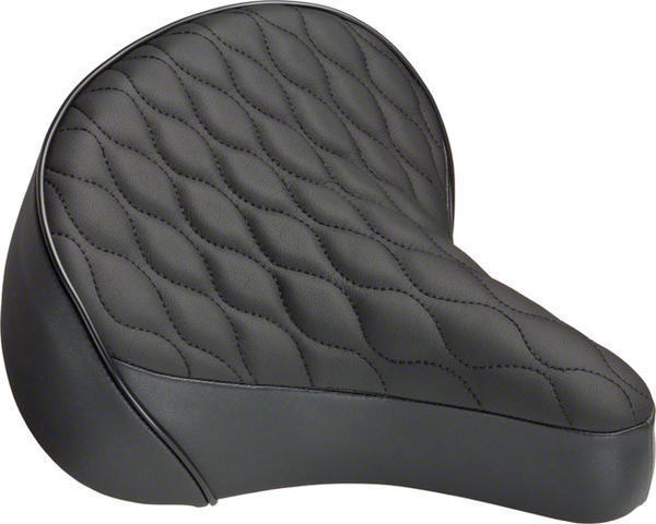 Dimension Cruiser Quilted Saddle Color: Black