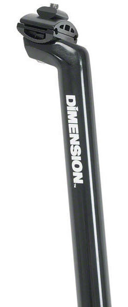 Dimension Standard Seatpost Color: Black