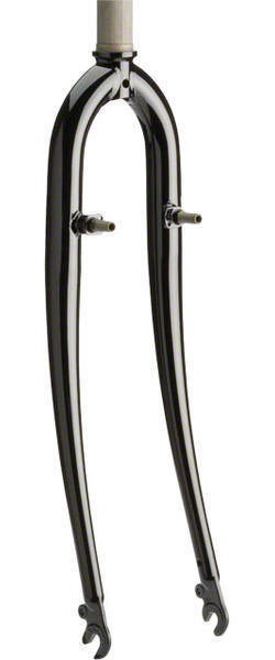 Dimension Threadless 700c Cyclocross/Hybrid Fork Color | Model: Black | 1 1/8-inch