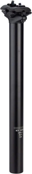 Dimension Two-Bolt Seatpost Color: Matte Black