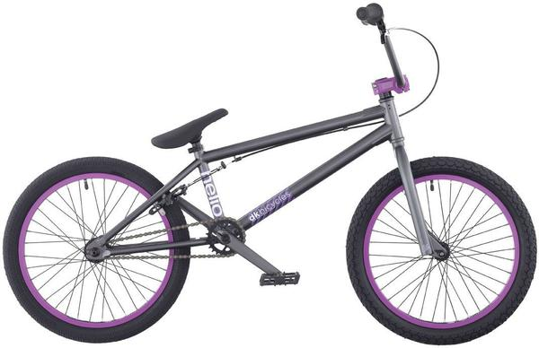 DK Bicycles Helio Color: Charcoal/Purple