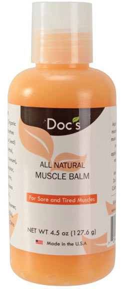 Doc's Skin Care Natural Muscle Balm