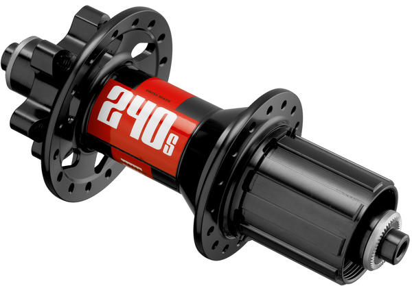 DT Swiss 240s MTB 6-Bolt Rear Hub Axle: 135mm Quick-Release