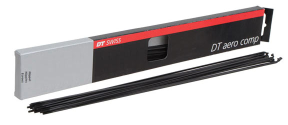 DT Swiss Aero Comp 14/19/14g (Black) Spoke Size: 254mm