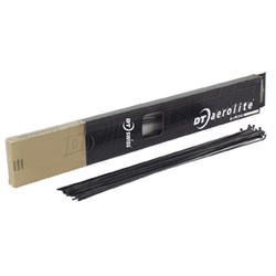 DT Swiss Aerolite 14/19/14g (Black) Spoke Size: 256mm