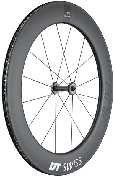 DT Swiss ARC 1100 Dicut 80 Front Rim Brake Axle: 100mm QR