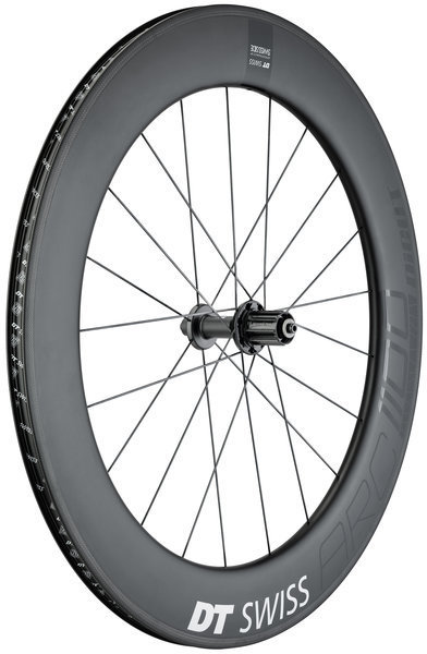 DT Swiss ARC 1100 Dicut 80 Rim Brake Rear Axle: 130mm QR