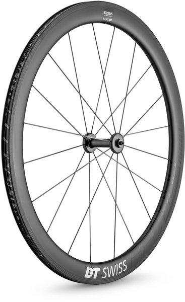 DT Swiss ARC 1400 DICUT 48 Rim Brake Front Color: Carbon