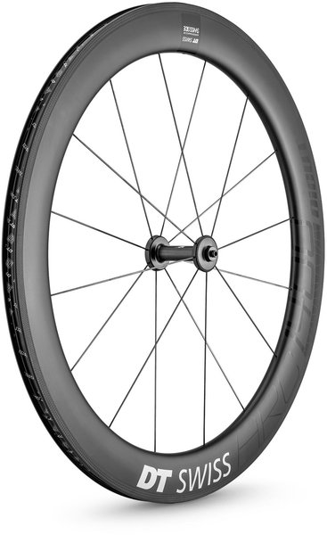 DT Swiss ARC 1400 DICUT 62 Rim Brake Front Color: Carbon