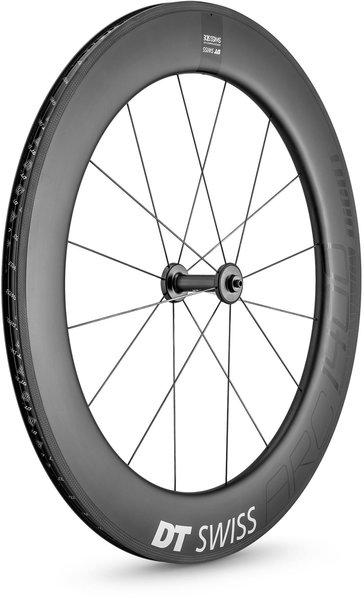 DT Swiss ARC 1400 DICUT 80 Rim Brake Front Color: Carbon