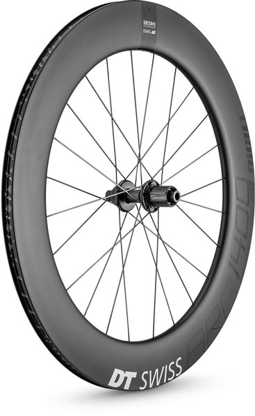 DT Swiss ARC 1400 DICUT 80 Disc Brake Rear Color: Carbon
