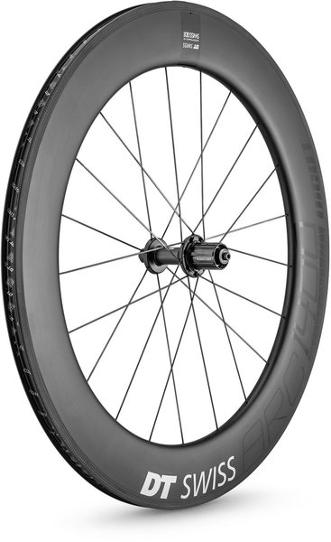 DT Swiss ARC 1400 DICUT 80 Rim Brake Rear Color: Carbon