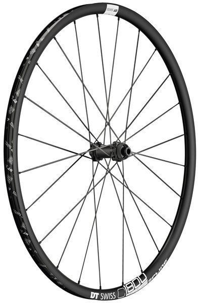 DT Swiss C 1800 Spline 23 Front Wheel Color: Black