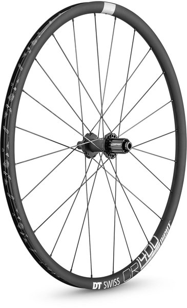 DT Swiss CR 1400 DICUT 25 Rear Color: Charcoal