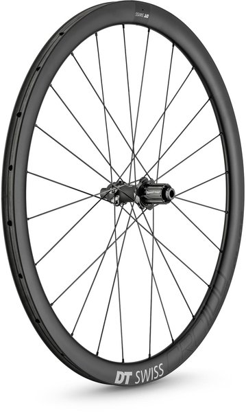 DT Swiss CRC 1100 SPLINE 38 T Rear Color: Carbon