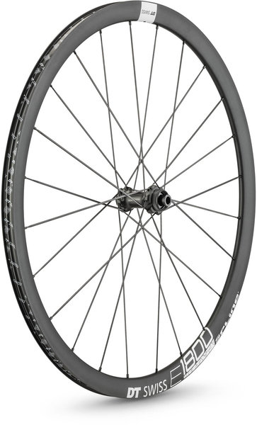 DT Swiss E 1800 SPLINE 32 Front Color: Black