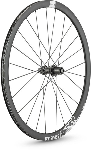 DT Swiss E 1800 SPLINE 32 Rear Color: Black