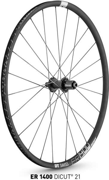 DT Swiss ER 1400 DICUT 21 Rear Color: Black