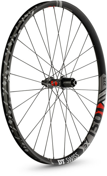 DT Swiss EX 1501 Spline ONE 30 27.5-inch Rear Color: Black