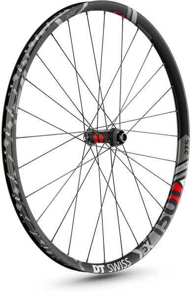 DT Swiss EX 1501 Spline ONE 30 27.5-inch Front Color: Black