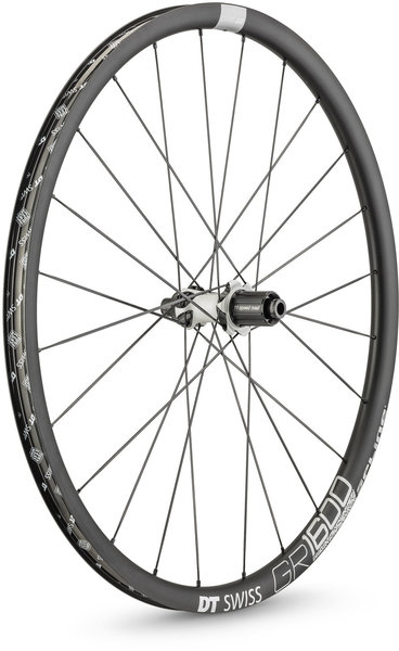 DT Swiss GR 1600 SPLINE 25 700c Rear Color: Black