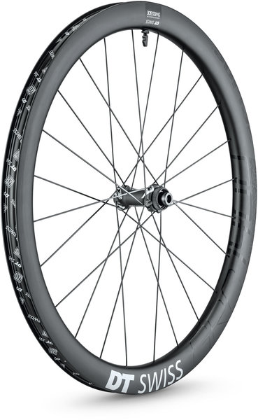 DT Swiss GRC 1400 SPLINE 42 700c Front Color: Carbon