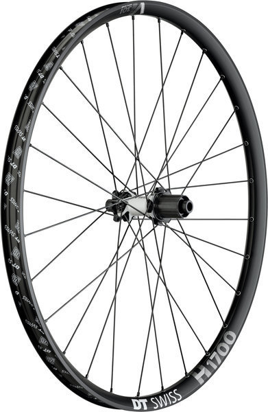 DT Swiss H 1700 Spline 30 27.5-inch Rear Color: Black