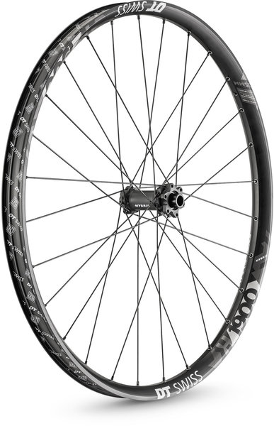 DT Swiss H 1900 SPLINE 35 Front Color: Black