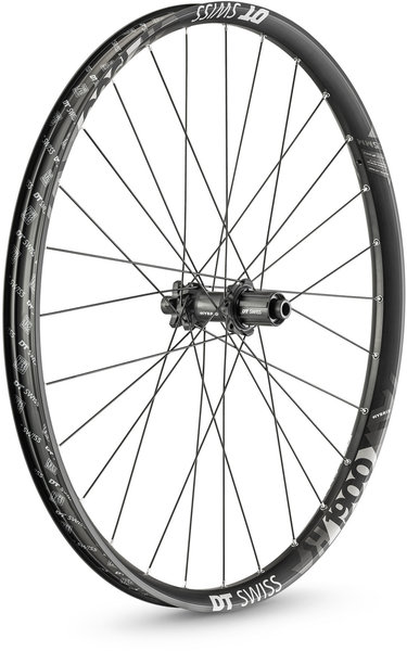 DT Swiss H 1900 SPLINE 35 27.5-inch Rear Color: Black