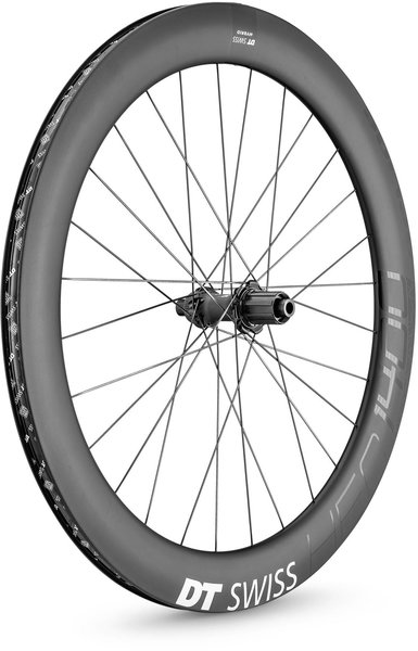 DT Swiss HEC 1400 SPLINE 62 Rear Color: Carbon