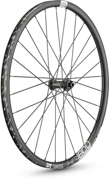 DT Swiss HG 1800 SPLINE 25 700c Front Color: Black