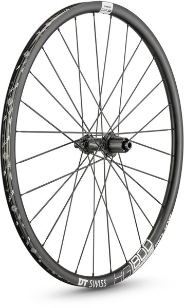 DT Swiss HG 1800 SPLINE 25 700c Rear Color: Black
