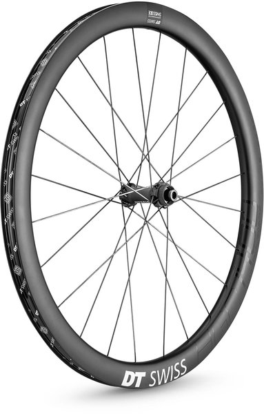 DT Swiss HGC 1400 SPLINE 42 700c Front Color: Carbon