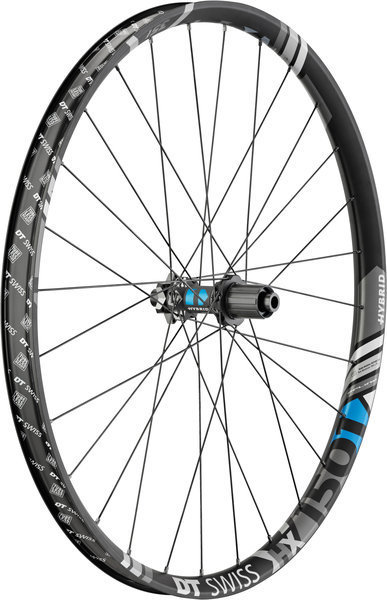 DT Swiss HX 1501 Spline ONE 35 Rear Color: Black