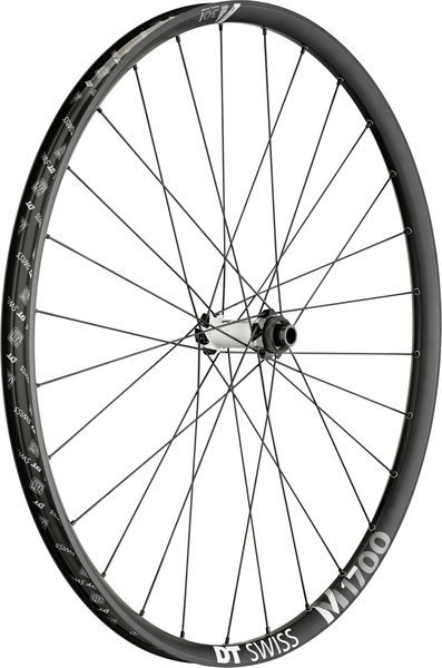 DT Swiss M 1700 Spline 30 29-inch Front Color: Black