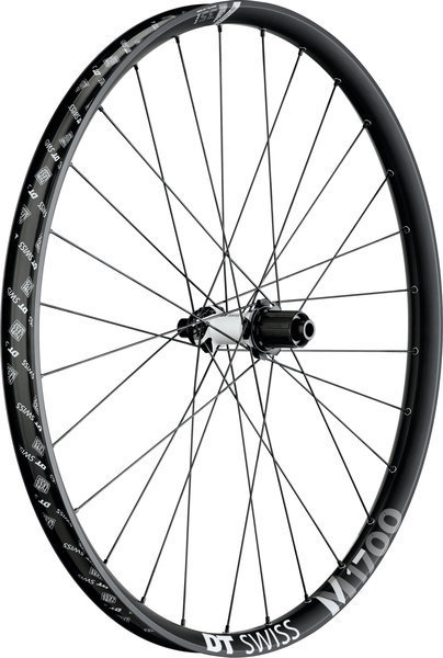 DT Swiss M 1700 Spline 35 27.5-inch Rear Color: Black