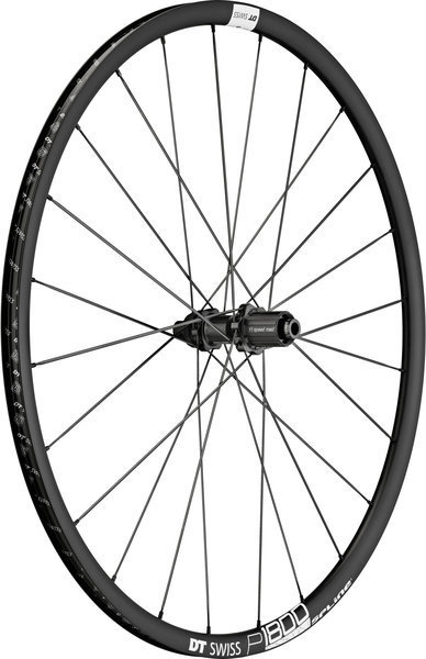 DT Swiss P 1800 Spline 23 Disc Rear Color: Black
